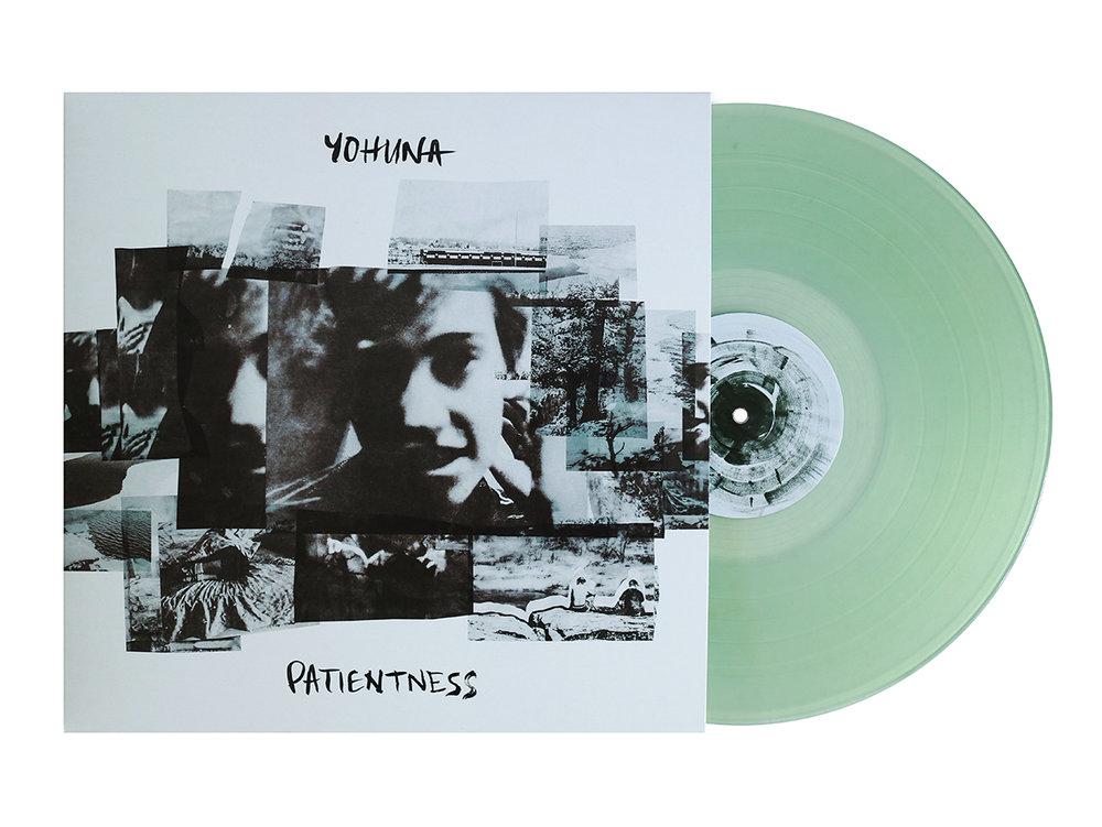 """Yohuna """"Patientness"""" Album Cover"""
