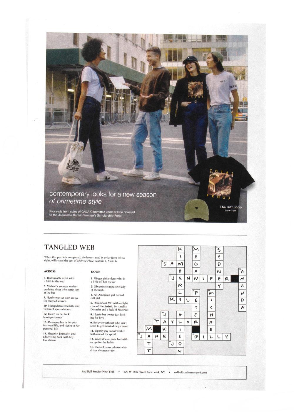 """Redbull """"Total Proof"""" TV Guide"""