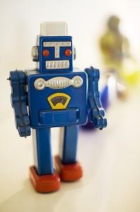 Blue Spaceman