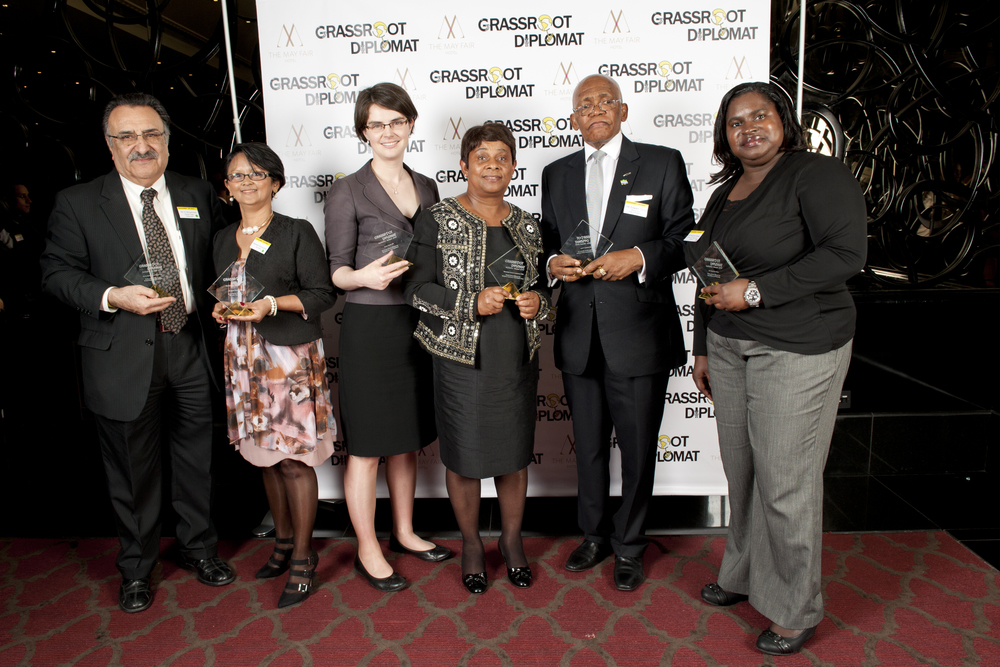 2014 Winners of Grassroot Diplomat Initiative Award