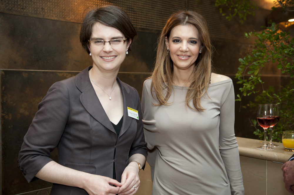 Chloe Smith MP and Dr Linda Papadopoulos