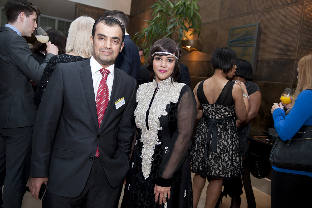 Nawaf Boshaibah (Kuwait) and Talyn Rahman-Figueroa