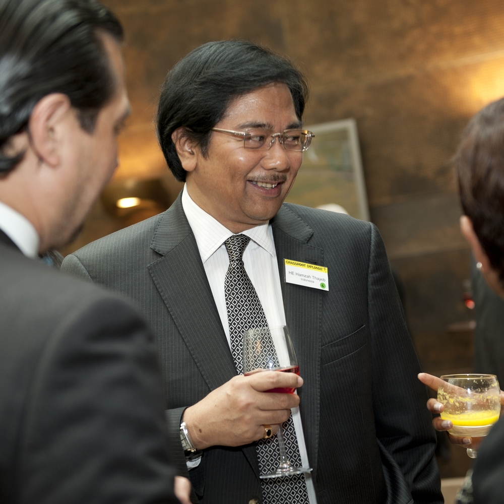 Ambassador of Indonesia HE Hamzah Thayeb