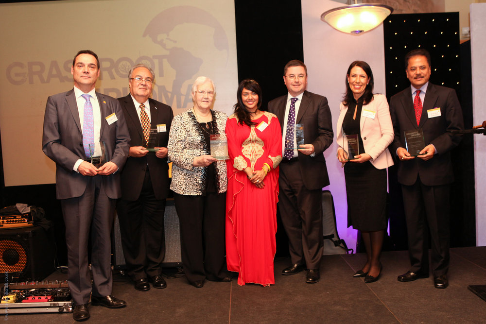 Winners of the Grassroot Diplomat Award 2013