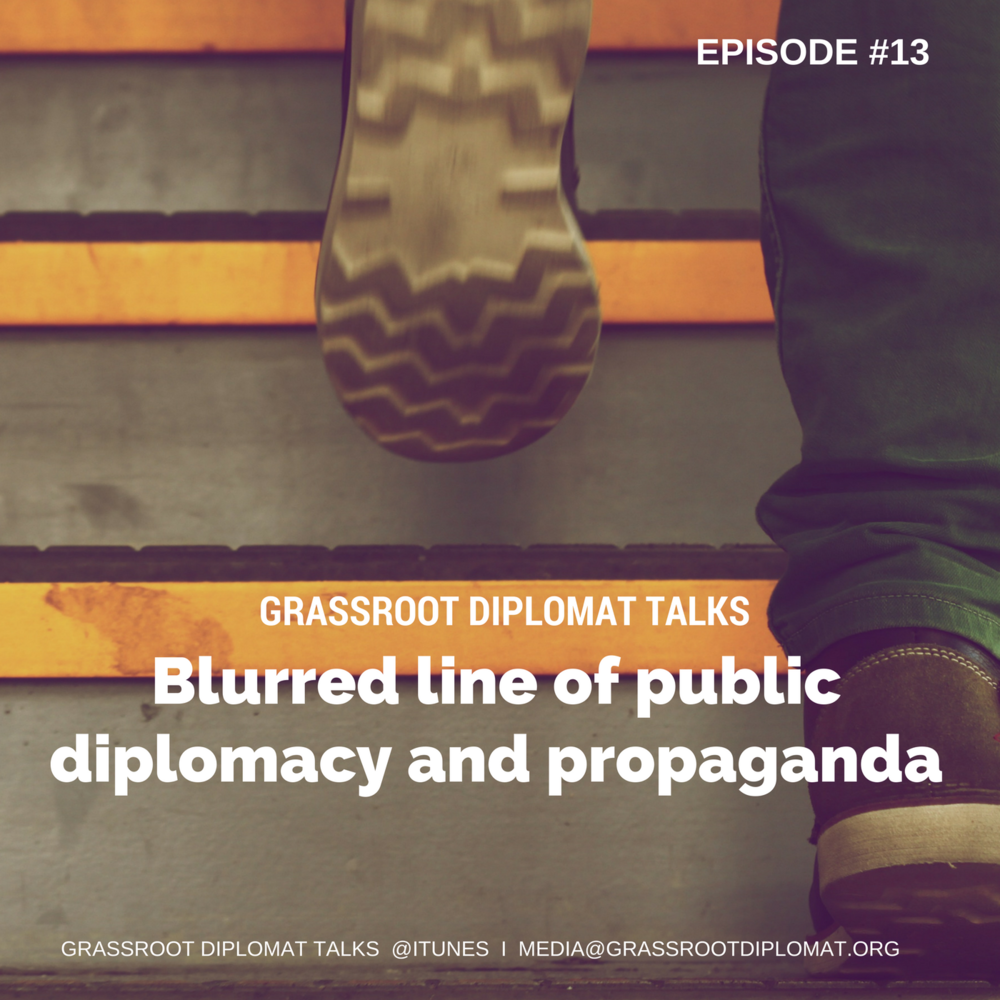 013 Blurred line of public diplomacy and propaganda