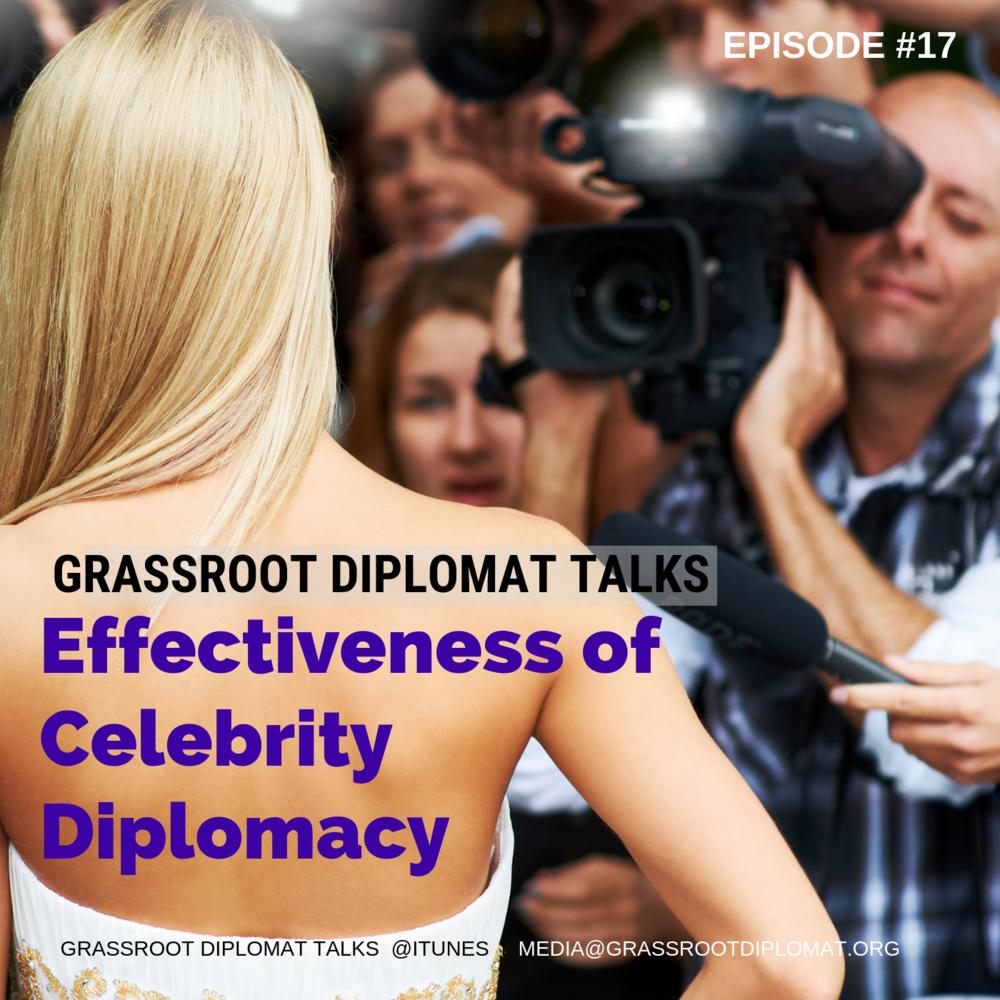 017 Effectiveness of Celebrity Diplomacy