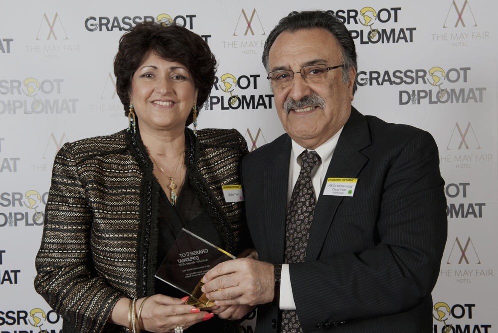 Initiative Award - Get recognised as an outstanding diplomat who is a positive role model for society at government level.