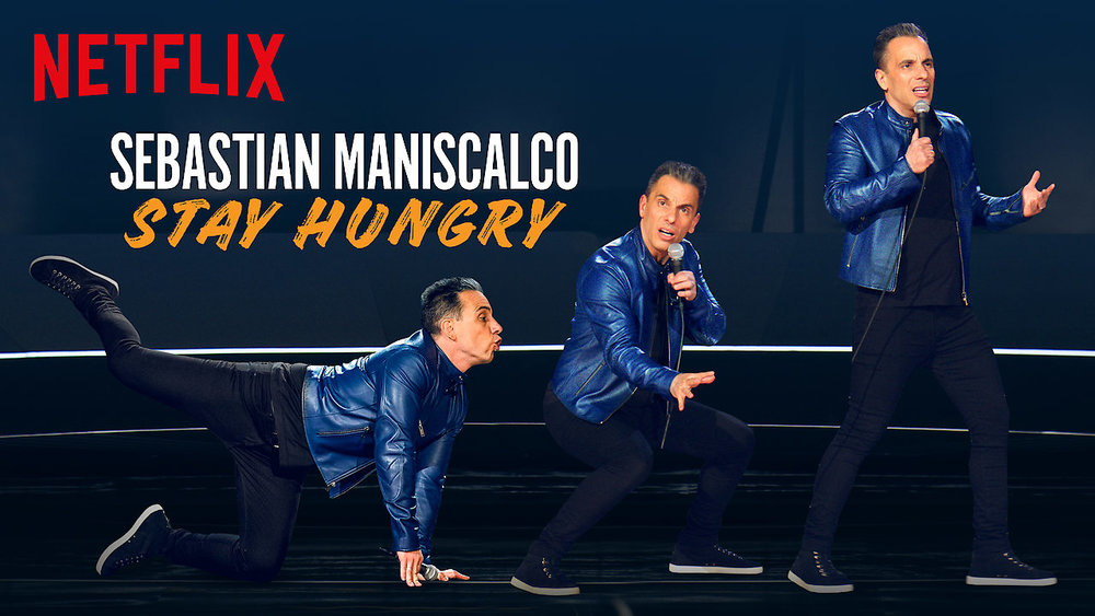 Sebastian Maniscalco: Stay Hungry - Netflix1 hr concert special at Radio City Music Hall