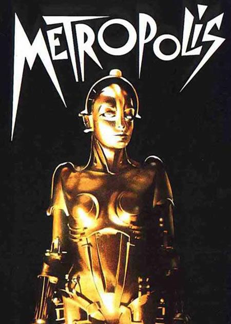Metropolis (1927) was one of the first depictions of an android on film.