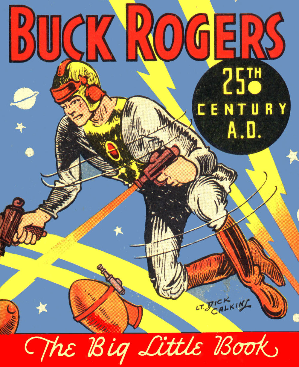 Buck Rogers' first appearance in the popular pulp-magazine  Amazing Stories  (1928)