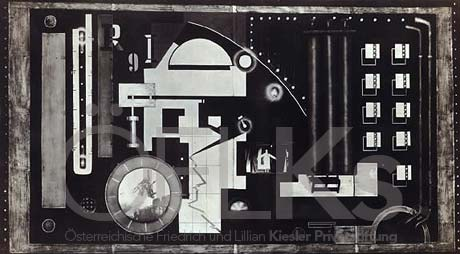 Frederick Keisler's stage rendering of  R.U.R.  in Berlin, 1922.