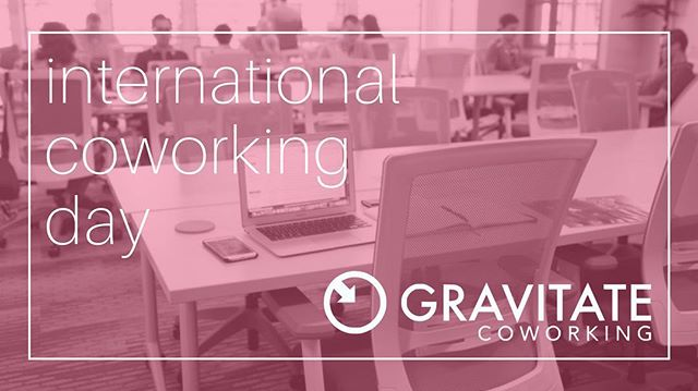 Thursday, August 9th is International Coworking day and we're celebrating with FREE coworking!  We love coworking and think you will too! Join us anytime between 8:00am-4:30pm to check out what all the hype is about.  We have crazy fast internet, delicious, locally roasted coffee, rotating flavors of infused water, beer on tap, comfortable workspaces, collaborative energy, great members and tons of fun.