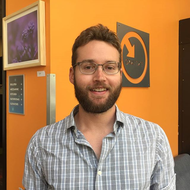 Happy 16th of August! Welcome back for another #Gravi-Member Spotlight featuring Matt Fiscus, the man who never fails to bring laughs and his staple ringtone for all to enjoy! 😋  Matt works as a Business Analyst for DocuStream Inc., a company that works with Community Health Plans in the San Fransisco bay area on compliance with State and Federal requirements! 🌊  Woo that was a mouthful! 😶 Head over to Matt's blog post to read more about this one-of-a-kind Gravitator! 🔥 As always, link in our bio! 🎉 #coworkers #cowork #gravitate #coworking #coworkingspace #coworkersbelike #dsm #dsmusa #iowa #ia365 #startup #startuplife #entrepreneur #desmoines #coworkinglife #coworkingoffice #office #downtowndesmoines #remotework #remoteworking #freelance #freelancer #freelancing #collaboration