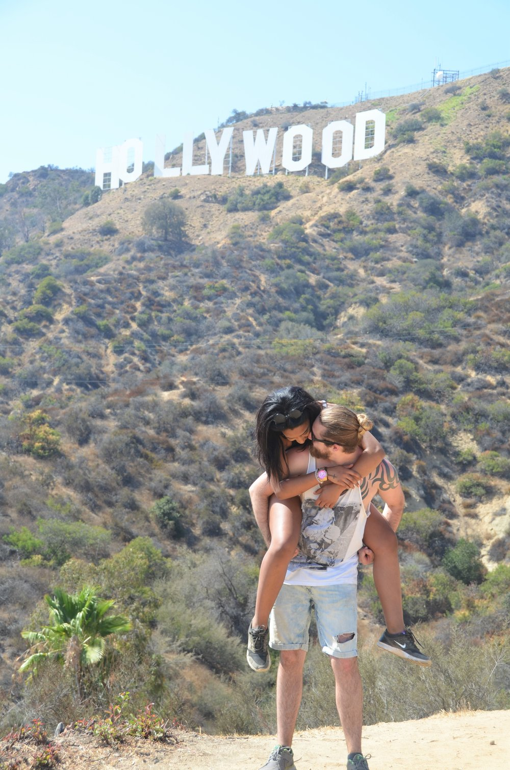 Hollywood Hike Photographed by Karlie Cheney
