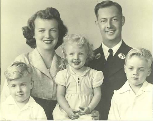 Mom, Dad, Steve (left), Dottie Anne, Patrick (author)