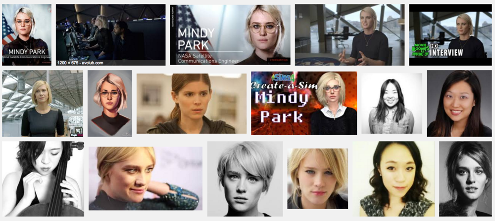 "Google Image search: ""Mindy Park"""