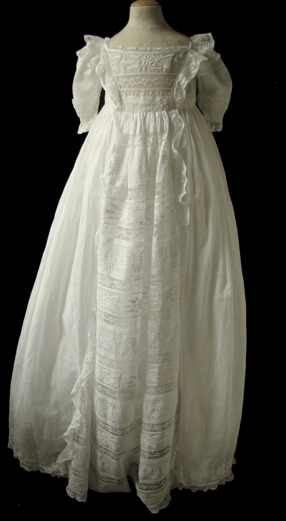 English Lawn Gown, c. 1890