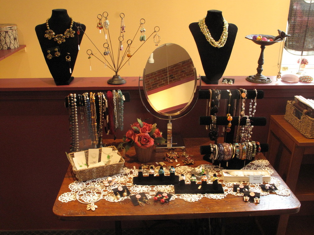 We have a nice selection of costume jewelry too!
