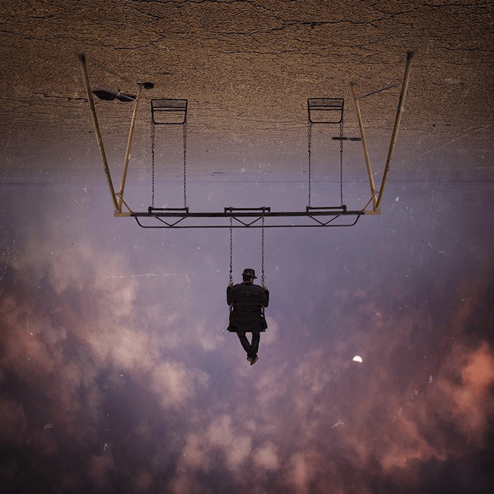 Image: Watching, by Hossein Zare