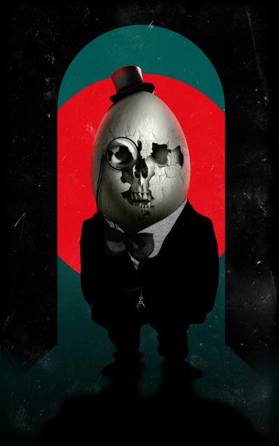Humpty Dumpty , by Ali Gulec