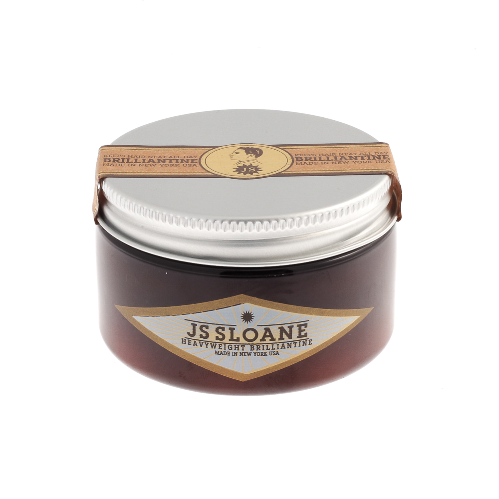 js sloane brilliantine heavyweight pomade the pomade shop. Black Bedroom Furniture Sets. Home Design Ideas