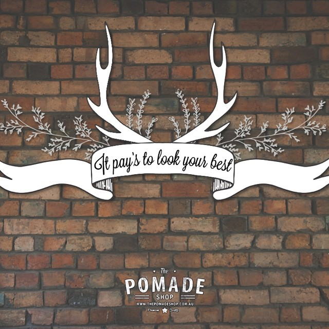 """""""It Pay's to Look Your Best""""…coming August 2014 #thepomadeshop #legrassephotography #menspomade #pomade #grooming #menshair #pomp #fade #groomnzoom #barberlife #trim #tapercut #beards #moustache #slickanddestroy #thepomadeshopaus"""