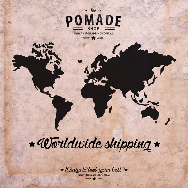 www.thepomadeshop.com.au  is now shipping international!! #thepomadeshop #thepomadeshopaus #kingbrownpomade #international #pomade #dapper #rockabilly #gents