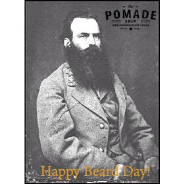 Happy Beard Day! From #thepomadehop We have a great selection of beard oils, waxes, combs & brushes to get the beard back in shape. #beardday #beards #thepomadeshopaus #pomade