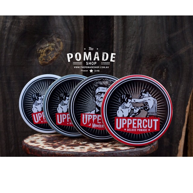 •Uppercut Deluxe• We stock all the Pomades, Combs & Mo Wax. Every Uppercut Order Receives a Sticker Pack to Slap on Stuff. @uppercutdeluxe #uppercutdeluxe #slickndestroy #thepomadeshop #thepomadeshopaus #pomade #rockabilly