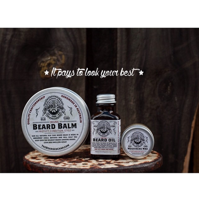 The Bearded Chap.. Handcrafted in Australia by @thebeardedchap. Its Australia's #1 beard range for good reason. Quality ingredients make this range the best choice for your neckmane