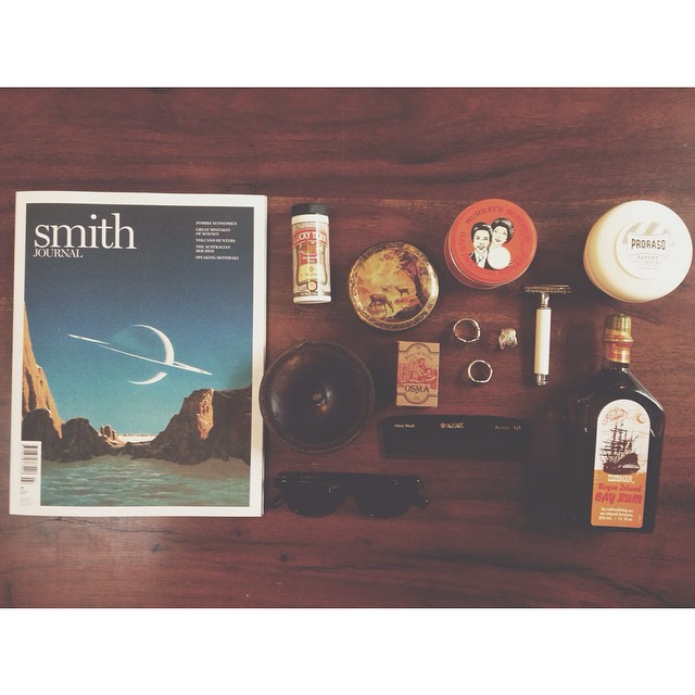 •The Pomade Shop Flat Lay Friday's•     A Little Look At Some Of Our New Products & A Few Of Our Favourite Accessories.    All Products In Will Be Available Soon!    #flatlayfriday #newproducts #piratesdreamingrings #kentcombs #proraso #luckytiger #smithjournal #smithjournalmagazine #murrayspomade #pinaudbayrum #mensgrooming #dapper #vintage #thepomadeshop #thepomadeshopaus