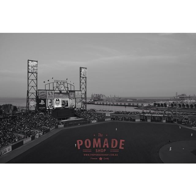 •San Francisco Giants Stadium• #thepomadeshop #thepomadeshopaus #pomade #mensgrooming #mensstyle