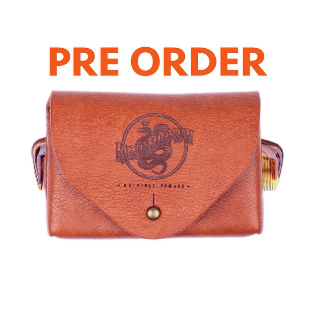 •King Brown Leather Holster•     Available For Pre- Order  (Only 10 Available)    Handstiched Cow Hide     www.thepomadeshop.com.au