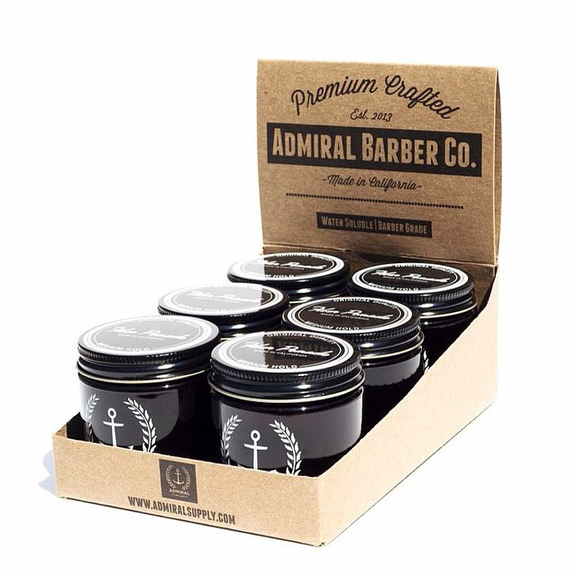 Coming Soon! Admiral Fiber Hold   @admiralsupplyco     For a more pliable, natural look or with the right amount the slick dapper look. Very versatile!    With a subtle vanilla and surf wax scent    #admiralpomade #thepomadeshop #mensstyle #mensgrooming #pomade #vintage #dapper #oldskool