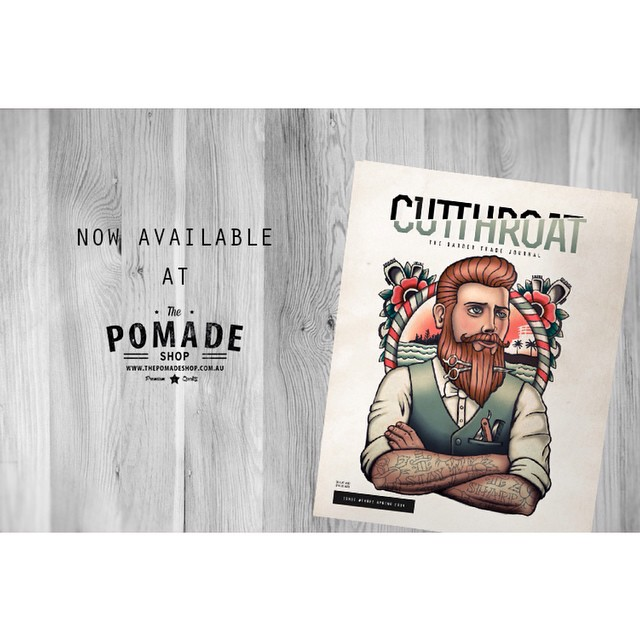 We are proud to announce that 'The Cutthroat Journal' is now available! The Cutthroat Journal is a cutting edge industry related print that provides insight, educational, news, networking & trends for men who take care of themselves..@thecutthroatjournal #itpaystolookyourbest #thecutthroatjournal #barber #barberlife #thepomadeshop #mensstyle #mensgrooming #dapper