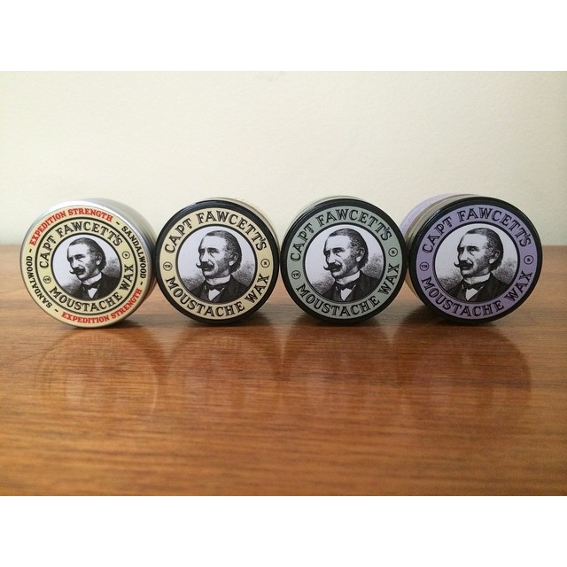 When it comes to getting that Mo ready for Movember @captainfawcett has you covered. The highest quality wax & essential oils make these fellas smell & hold like no others    #moustache #itpaystolookyourbest #captainfawcett #thepomadeshop #mensstyle #mensgrooming #movember