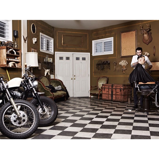 The Iron Society Mens Barbershop with Chris Desanty. Classic mens haircuts & handmade pomades. @theironsociety #theironsociety #barberlife #craftsmanship #barber #thepomadeshop #mensstyle #mensgrooming #pomade