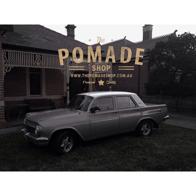 The Pomade Shop.. As classic as parking your Holden across your front lawn #takepride #vintage #classic #oldskool #mensstyle #mensgrooming #dapper #holden