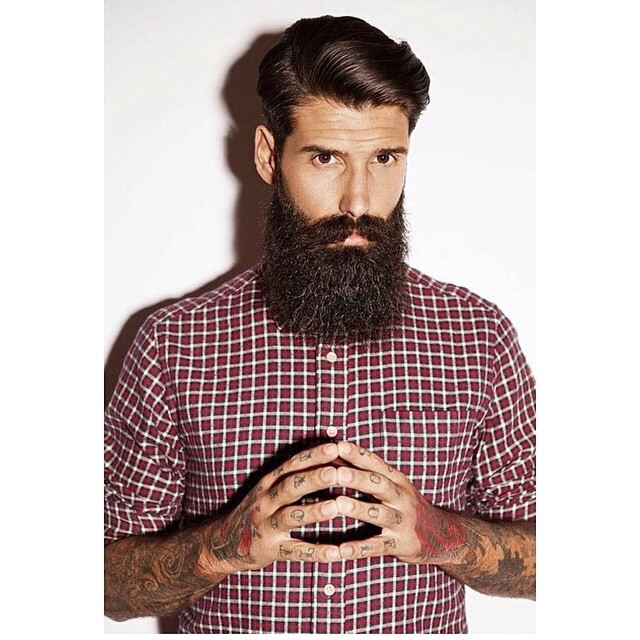 @roque_80 staying classy this summer.. We recommend lighter holds, matte waxes or water based pomades during the warmer seasons for a natural look like in this pic       www.thepomadeshop.com.au       pic by @vivanityphoto  #thepomadeshop #itpaystolookyourbest #pomade #beards #beard #mensstyle #mensgrooming