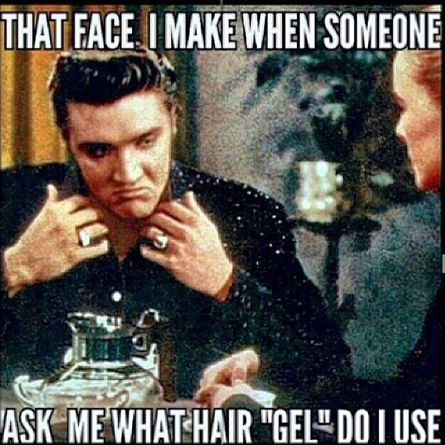so what do you use?     #pomade #thepomadeshop #mensstyle #mensgrooming #vintage #dapper #elvis