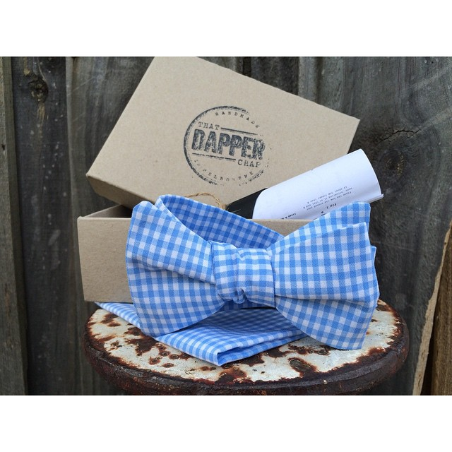We are proud to be wearing @thatdapperchap_'s fine looking bowtie & pocket square at the #melbournecup today!    'It Pays To Look Your Best'    #melbourne #mensstyle #mensgrooming #dapper #vintage #style #thepomadeshop #oldskool