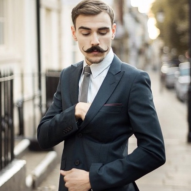 Half way through #movember we know you will be reaching into your pocket like @gregtbrown for that mo wax.. We stock @captainfawcett, @thebeardedchap, @uppercutdeluxe & @humblebody        www.thepomadeshop.com.au       pic by @oliwia_zielinska     #thepomadeshop #mensstyle #movember #moustache #dapper #dappermovember #vintage #itpaystolookyourbest