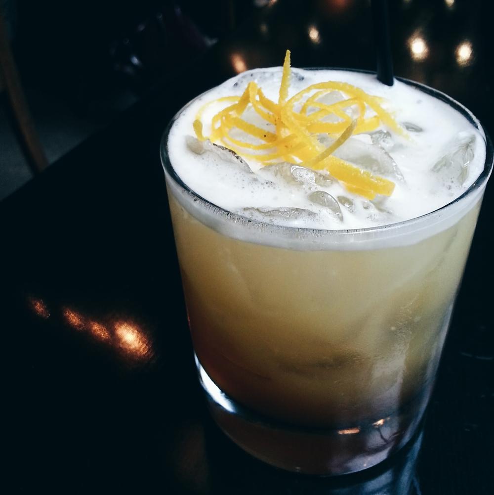 + drink: kishu sour