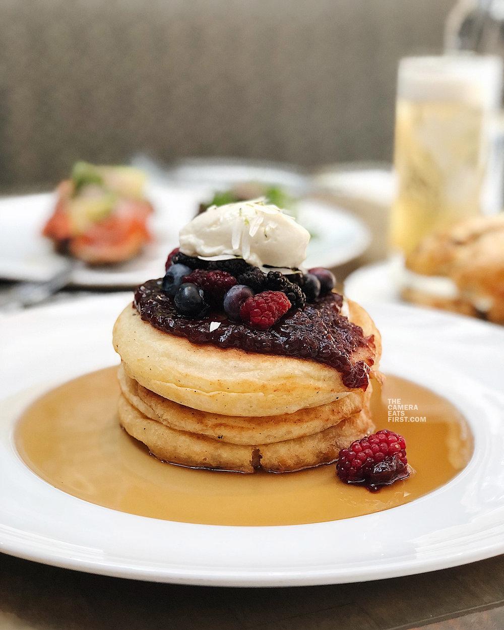 buttermilk ricotta pancake