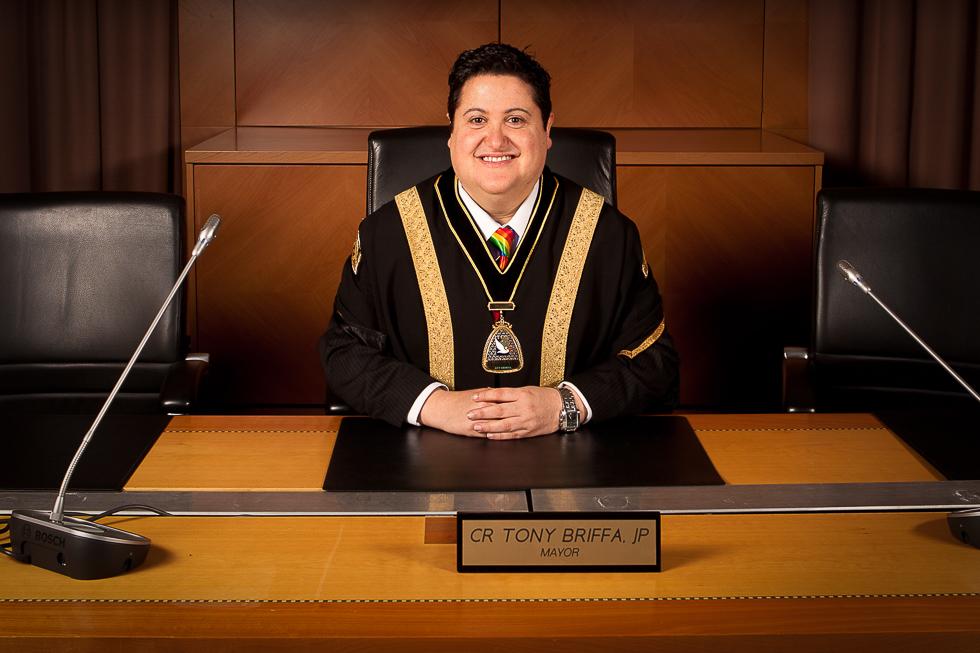 Mayor of Hobsons Bay council Victoria Tony Briffa.