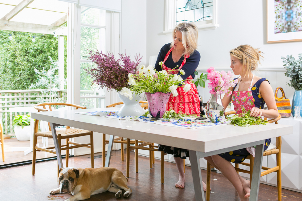 Chloe shorten in documentary style images for her book The Secret Ingredient.