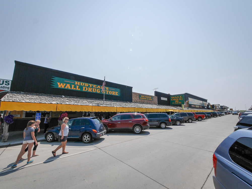 Wall Drug is  huge .