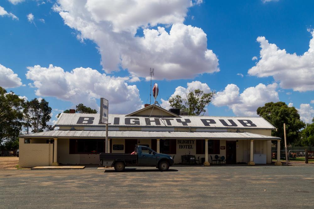 Blighty Hotel - Established 1941