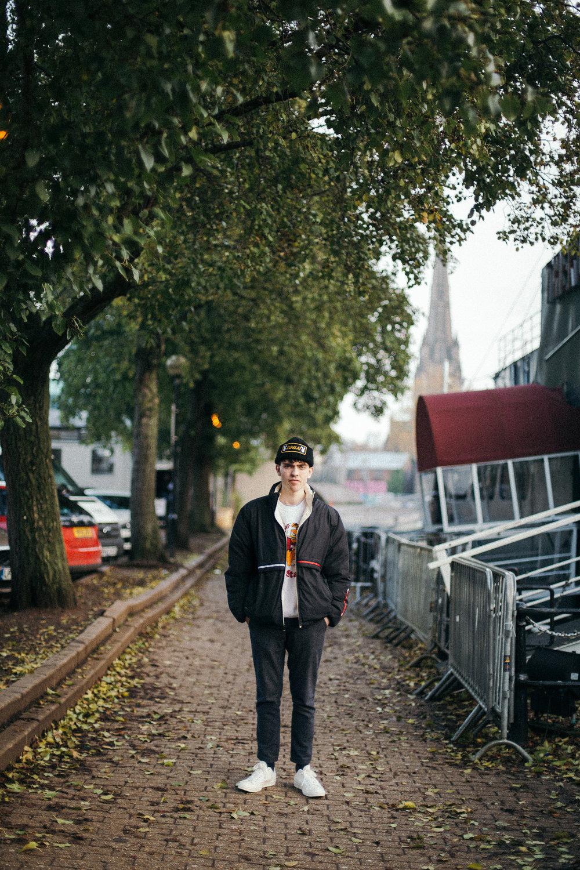 Connor in Bristol