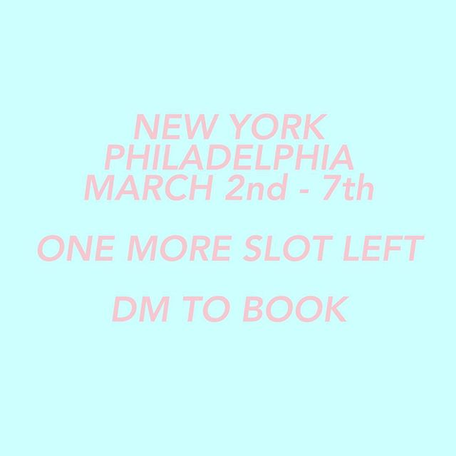 NEW YORK / PHILADELPHIA  I will be over in the states in early March, I have one slot left, get at me if you want to shoot while I'm out there 🤘🏻 Thank you  #canon #photo #photographer #photography #newyork #philadelphia #america #canonphotographer #nyc #newyorkbrand